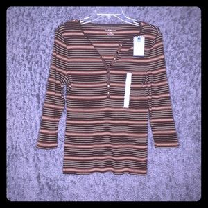 Croft & Barrow Size Small Fall Colors Shirt